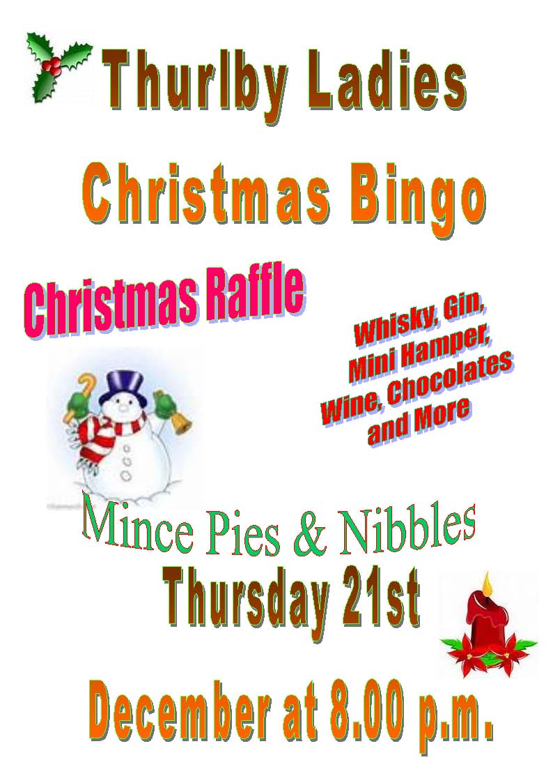 Ladies Christmas Bingo 2017[2673]
